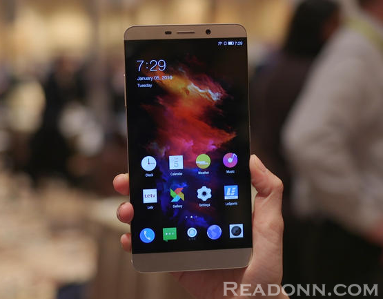 This is Le Max Pro, the first smartphone with Snapdragon 820