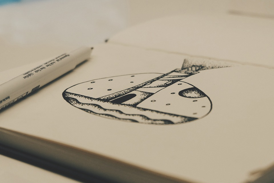 Drawing notebooks that are art galleries of pocket