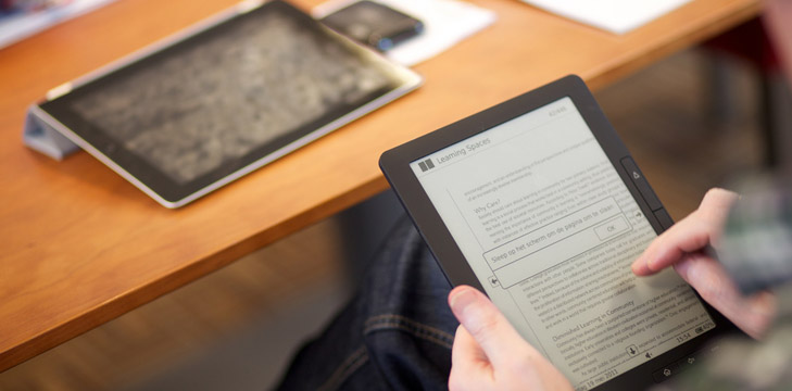 The electronic book that can bury paper books